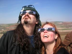 Kate Russo and partner Geordie in Turkey 2006