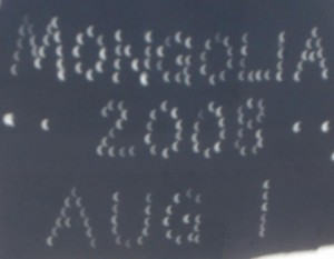 An Eclipsed message