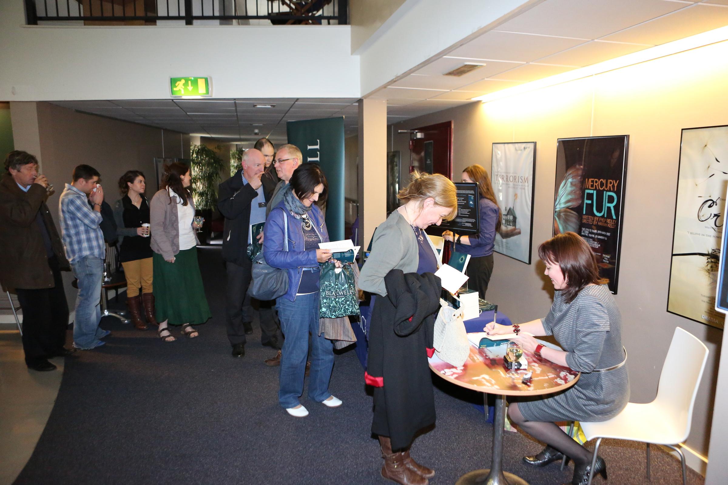 Belfast book launch party.  (c) 2012, Paul McErlane