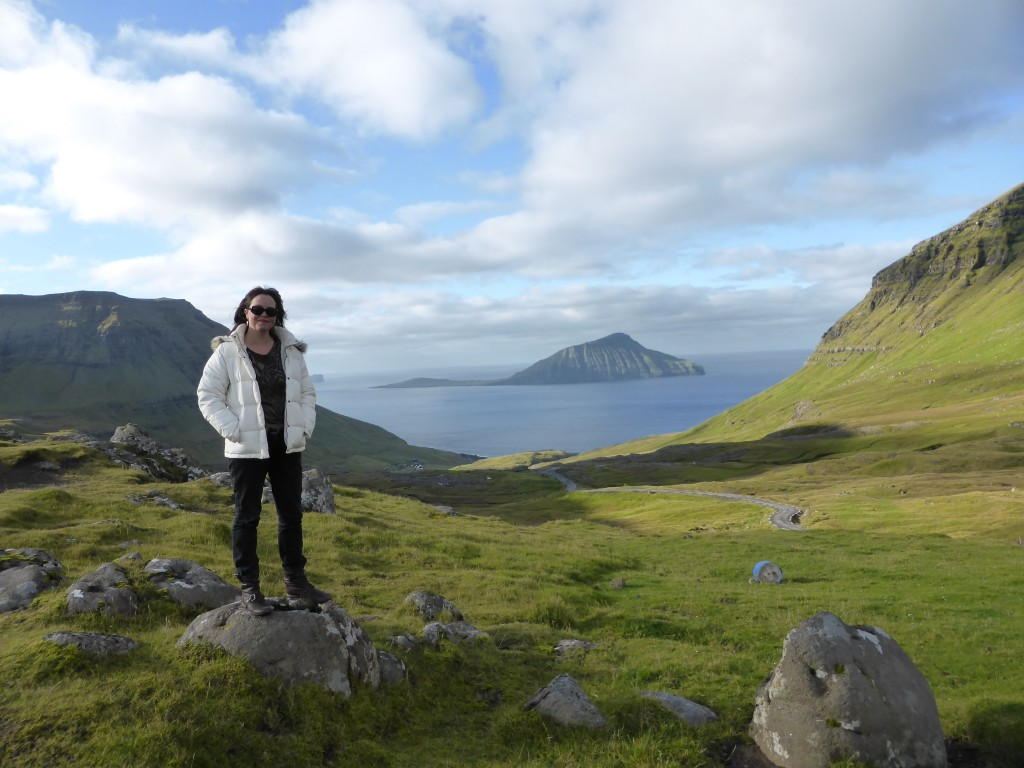 Me in the incredibly beautiful Faroe Islands.  It's quite hard to take a bad photo. (c) Kate Russo