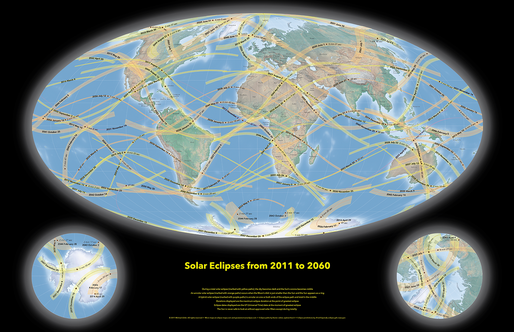 eclipse map, path of totality, Michael Zeiler, Dr Kate Russo