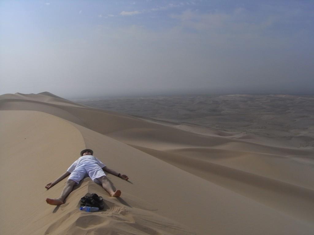 mongolia sand dune