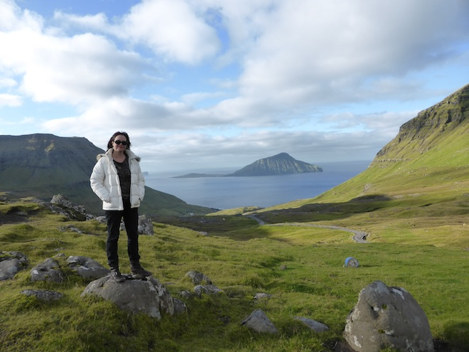 Me in the stupendously beautiful Faroe Islands.  © Kate Russo