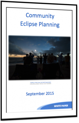 White Paper:  Community Eclipse Planning