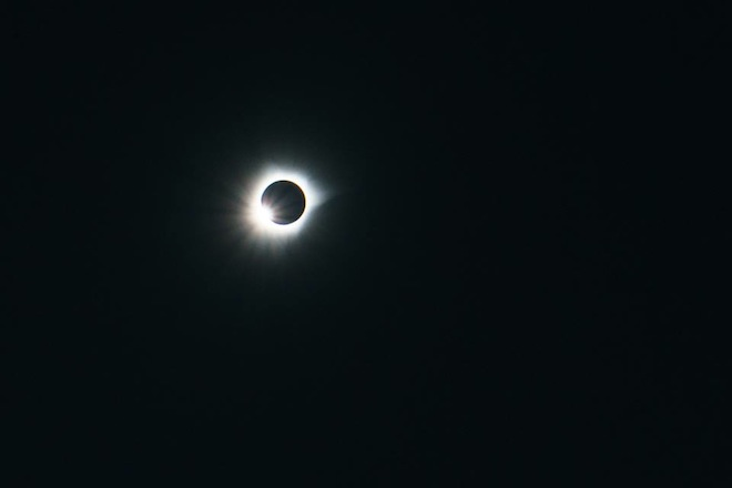 Totality from Eclipse Festival.  (c) 2016, unknown