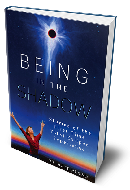 Being in the Shadow: Stories of the first time total eclipse experience