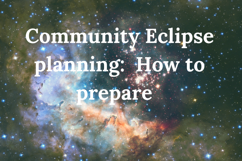 eclipse research, eclipse planning, community, Dr Kate Russo