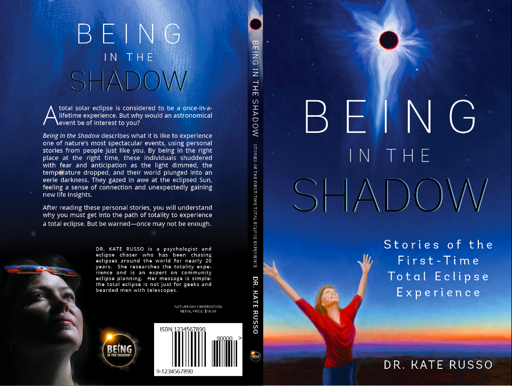 book launch, eclipse experience, totality, eclipse, author, Dr Kate Russo, eclipse 2017, total eclipse